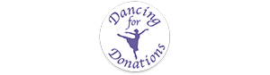 dancing for donations logo